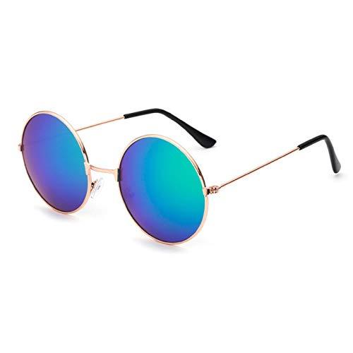 Daawqee Round Sunglasses Kids Retro Frame Glasses Children Sun Glasses For Boys Girls Eyewear UV400 D