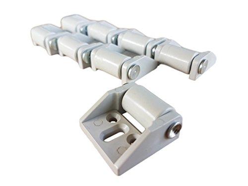 (8Stück) nur 16mm Gummi Rad Kunststoff Lenkrollen Metall mit Platte Möbel Gerät & Ausrüstung Kleine Mini Rollen Rollen Set -
