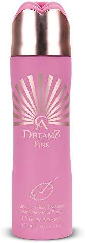 Chris Adams Perfumes Dreamz Pour Femme Pink Deodorant For Women, 200 ml