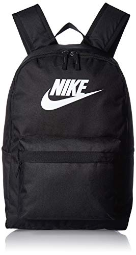 Nike Sports Backpack NK HERITAGE BKPK - 2.0, black/black/(white), MISC, BA5879