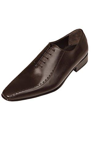 Chaussure Richelieu Homme Mariage cuir marron Marron