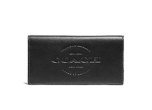 Coach Mens Long Pocket Leather Wallet - #F24653