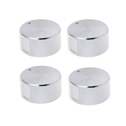 Drehschalter, rund, Griff für Gasherd, Herd, Ofen, Küche, 4 Stück - Elektroherd Knopf