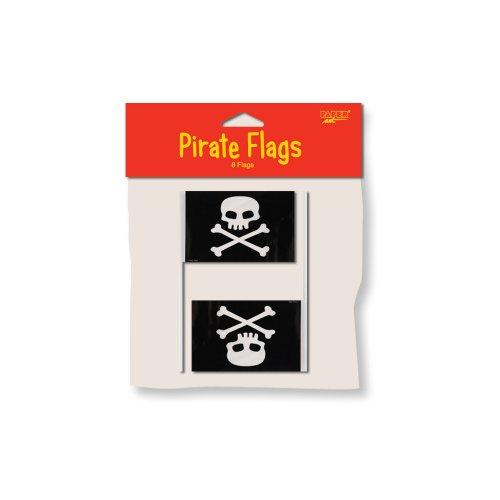 Unbekannt Creative Converting Buried Treasure 8Zählen Flagge Pirat Partyzubehör