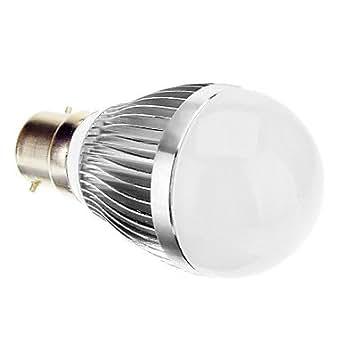 CL - B22 6W 6000K Cool White Light Bulb de boule de LED (85-265V)