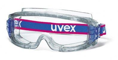 Uvex Ersatzscheibe für Uvex Vollsichtbrille 9301 ultravision, Scheibenfarbe: farblos, Schutz: 2-1,2