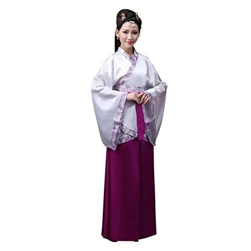 Xinvivion Hanfu Vestido Mujer - Antiguo Estilo Chino