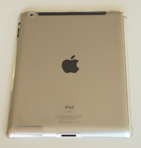 Crystal Back Case für Apple iPad2/3/4 - Kompatibel mit ipad2/3/4 Smart Cover - Hard Case - transparent
