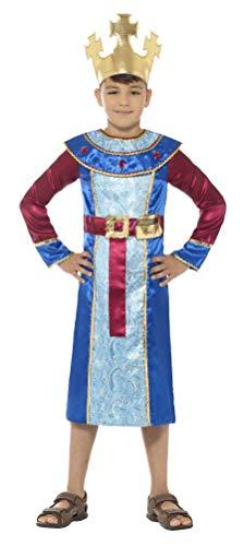 Fancy Me Jungen Krippenkönig Melchior DREI Weisen Männer Weihnachten Weihnachten Schule Spielen Festlich Kostüm Outfit 4-12 Jahre (Drei Weise Männer Kostüm)