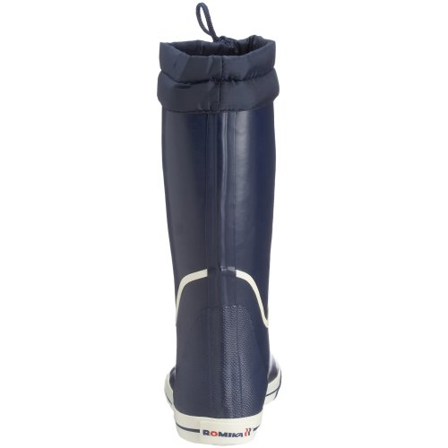 Romika 34004-525 Jeanie Boot Bottes En Caoutchouc Unisexe Bleu (marine-weiss 525)