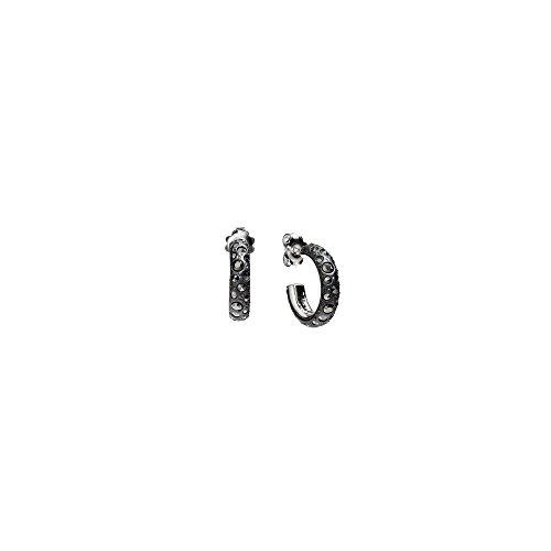 Pomellato 67 / orecchini/argento e marcasite/ref. O.B224PMA/A
