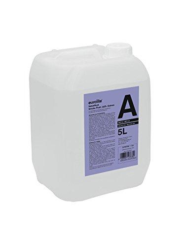 Eurolite Smoke Fluid -A2D- Action Nebelfluid 5l | Nebeleffekt mit geringer Dichte und Standzeit | Made in Europe | Extra geringe Nebeldichte | Geruchsneutral auf Wasserbasis | Biologisch abbaubar | Nebelflüssigkeit für Ihre Nebelmaschine
