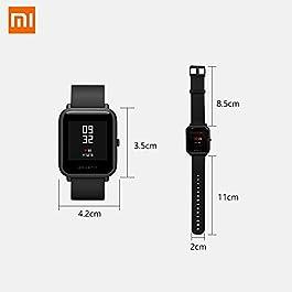 Amazfit Bip Lite Smartwatch Braccialetto Intelligente 1.28″ Activity Tracker Pedometro Pulsometro GPS Fitness Tracker