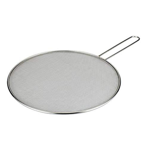 29 / 33cm Spritzschutz aus Edelstahl Bratpfanne Küchengeschirr Netzabdeckung Wasserdichtes Öldichtes Ölsieb Umweltfreundliches Atmungsaktives