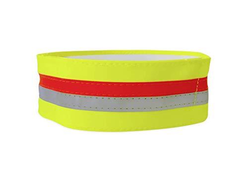 Tractive TRASI2 Banda para Collar reflectante con Bolsillo para GPS, Medio (40-50cm),...