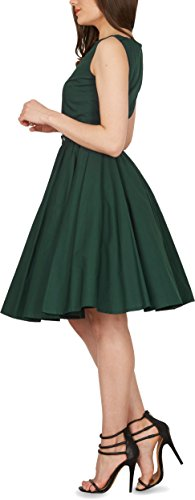 Black Butterfly 'Audrey' Vintage Clarity Kleid im 50er-Jahre-Stil (Dunkelgrün, EUR 38 – S) - 2