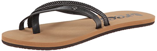 Reef O'contrare Lx, Tongs Fille Noir (Black)