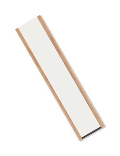 TapeCase VF32B 2,5 cm x 25,4 cm x 25 cm schwarz doppelt beschichtetes Vinyl-Schaum-Klebeband, -18 bis 107 Grad Celsius Temperaturbereich, 0,3 cm dick, 25,4 cm Länge, 2,5 cm Breite, 25 Stück - Schwarz Vinyl-schaum