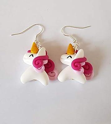 boucles licornes,boucles d'oreilles licornes,cadeau noel,theme equitation