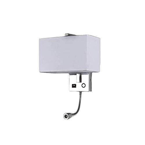 Oevina La Moda Aplique Pared Tela LED Moderno, diseño