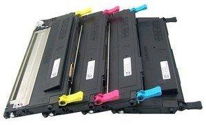 Prestige Cartridge CLP310 Lot de 4 Cartouches de Toner pour Samsung CLP-310/CLP-315/CLX-3170/CLX-3175 - Couleurs Assorties