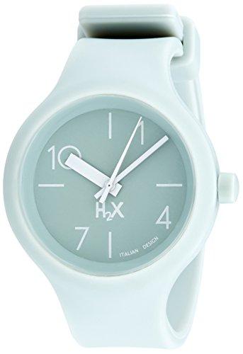 Haurex Damen Analog Quarz Uhr mit Gummi Armband SV390DV2