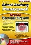 Sygate Personal Firewall richtig einrichten & konfigurieren, m. CD-ROM