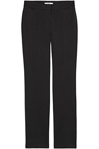 FIND Damen Gerade geschnittene Anzughose, Schwarz (Black), 44 (Herstellergröße: XX-Large)