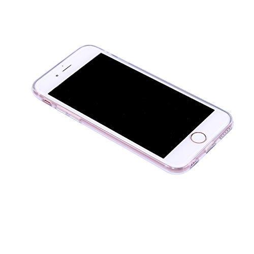 Coque iPhone 6 Plus / 6S Plus, Chreey Ultra-mince Paillette Élégant Mignon Tempérament Doux Mode Téléphone Case Glitter TPU Silicone Souple Coque Etui de Protection Anti-rayures Couverture Arrière [pa rayures colorées