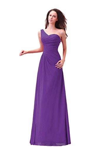 Bridal_Mall - Robe - Sans Manche - Femme Violet