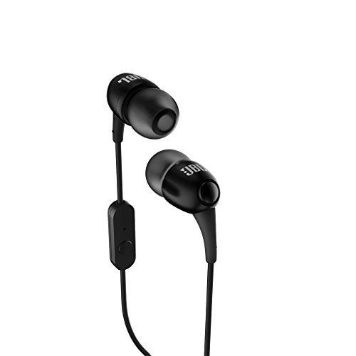 JBL-T-100A-In-Ear-Headphone-with-Mic-Black