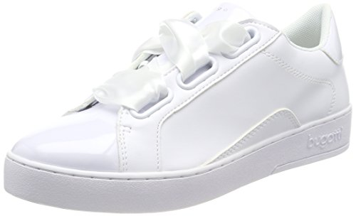 Bugatti Damen 422291035900 Sneaker, Weiß (White 2000), 39 EU