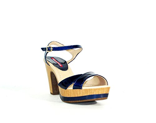 PEDRO MIRALLES - Scarpe con plateau Donna , blu (Blau), 41 EU