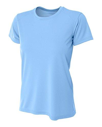 A4 - T-shirt de sport - Femme bleu clair