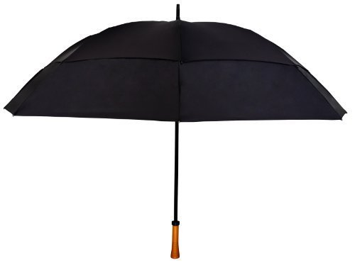 black-windproof-up-to-60-mph-large-golf-umbrella-64-arc-with-warranty-by-tornado