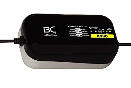 BC K900 - Caricabatteria e Mantenitore 6 Volt/12 Volt/12 Volt CAN-Bus per BMW