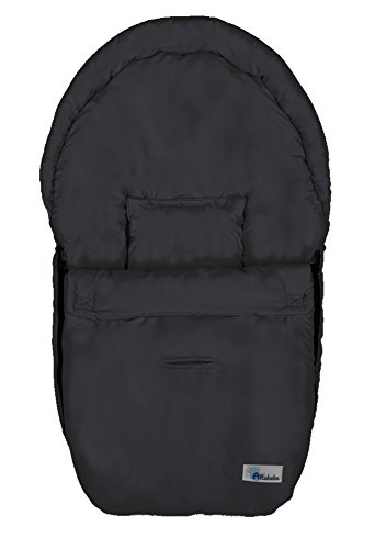 Altabebe AL2610 - 02 - Saco para asiento de coche, color negro