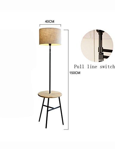SEXY- Einfache Moderne Tuch Schatten Eisen Lampe Körper Boden Lampe Wohnzimmer Schlafzimmer Creative Stehleuchte -Retro Stehleuchte (Farbe : 2) Sexy Boden