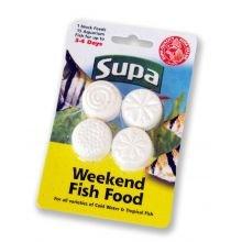 Supa Weekend Fish Food 4x6g
