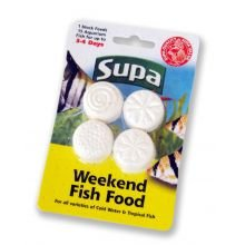 Supa Weekend Fish Food 4x6g