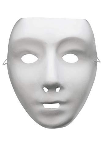 Halloween Kostüm Roboter - Smiffy's - Robotermaske Maske Roboter Halloween Fasching Karneval