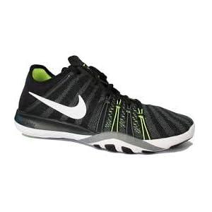 NIKE Damen Laufschuh WMNS Nike Free TR 6 schwarz / weiß / gelb