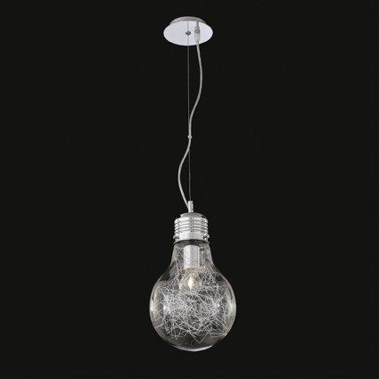 Ideal Lux Luce Max SP1 Lampe, petit, aluminium