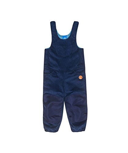 Finkid Kuutio denim navy Kinder Outdoor Kord Latzhose