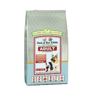 James Wellbeloved Duck & Rice Kibble Naturally Hypo Allergenic Dog Food 15kg from James Wellbeloved