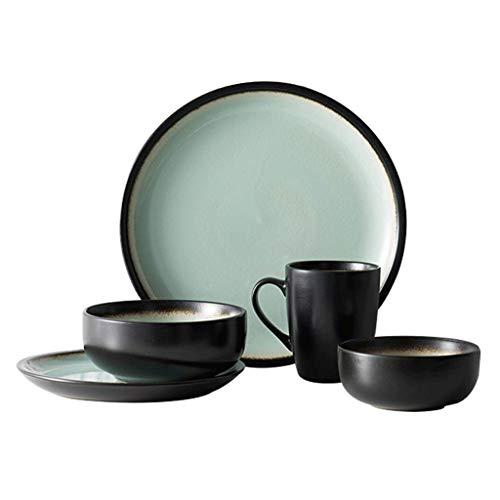 HR Vintage Keramik Geschirr-Set, kreativ, handbemalte Schalen/Schalen/Schale/Schale/Familie, Ramen, Suppenschüssel, Obstsalat-Teller, kreative Keramik-Schale Scorpion Bowl