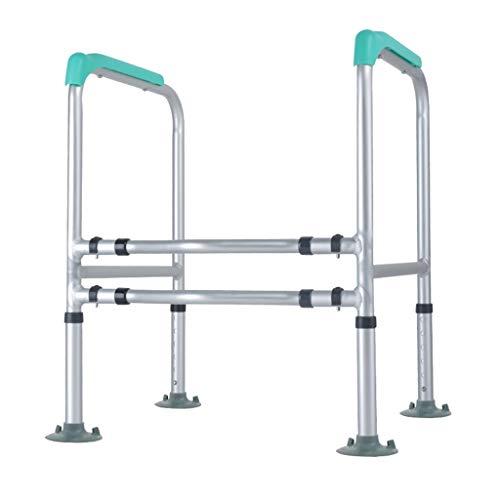 NJSGP Handlauf für Senioren-WC, Booster-Rahmen, Sicherheitshandlauf, WC-Toilettensitz,