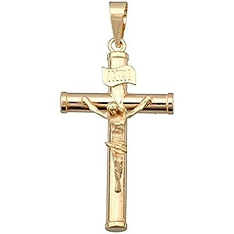 Oro 18k Crocifisso Croce Cristo [4705] - 18k Crocifisso