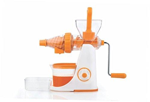 Floraware Advance Fruit & Vegetable Juicer Mixer Grinder with Waste Collector, Orange (Better Preformance)