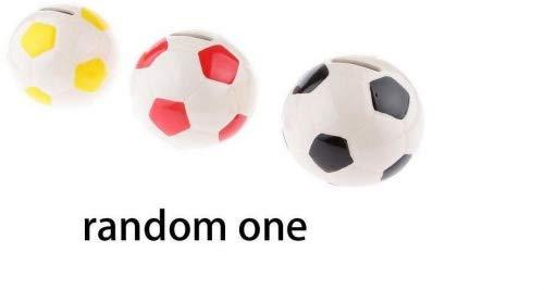 zcsmg Fußball Form Spardose Sparschwein für Kinder Geschenke oder Crafts Dekoration (zufällige Farbe)